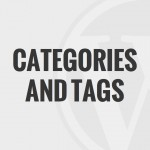07 – Using Categories and Tags