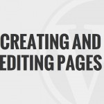 08 – Creating and Editing Pages