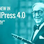 First Tracks On The WordPress Benny 4.0